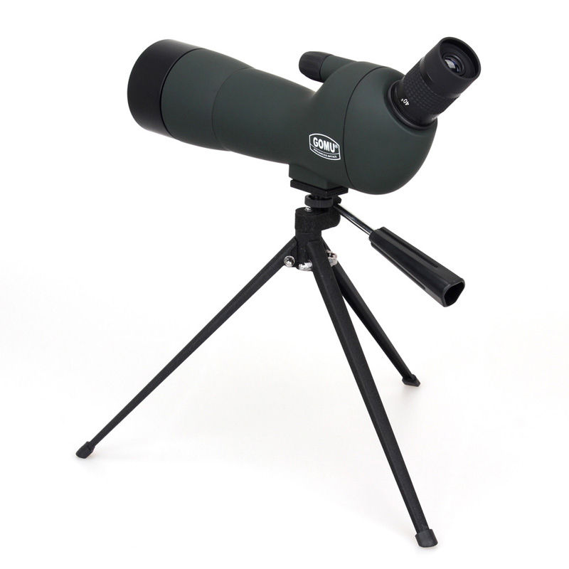 GOMU Advanced Optics Angled 20-60x60 Zoom Spotting Scope Monocular With Tripod купить