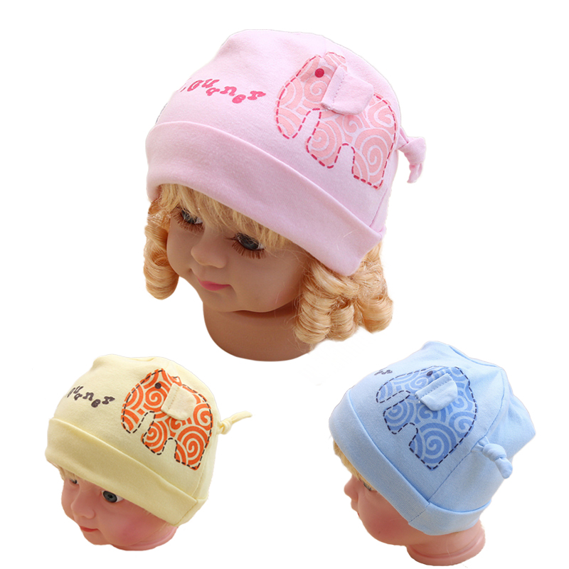 Detail Feedback Questions about Newborn Baby Hats For Girls Elephant Boys  Hat Caps Cotton Knitting Hat Spring Autumn Cartoon Cap For Newborn Baby  Girls ... 73a0e521c484