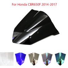 ABS Windscreen For Honda CBR650F 2014 2015 2016 2017 Double Bubble Motorcycle Windshield Wind Deflectors