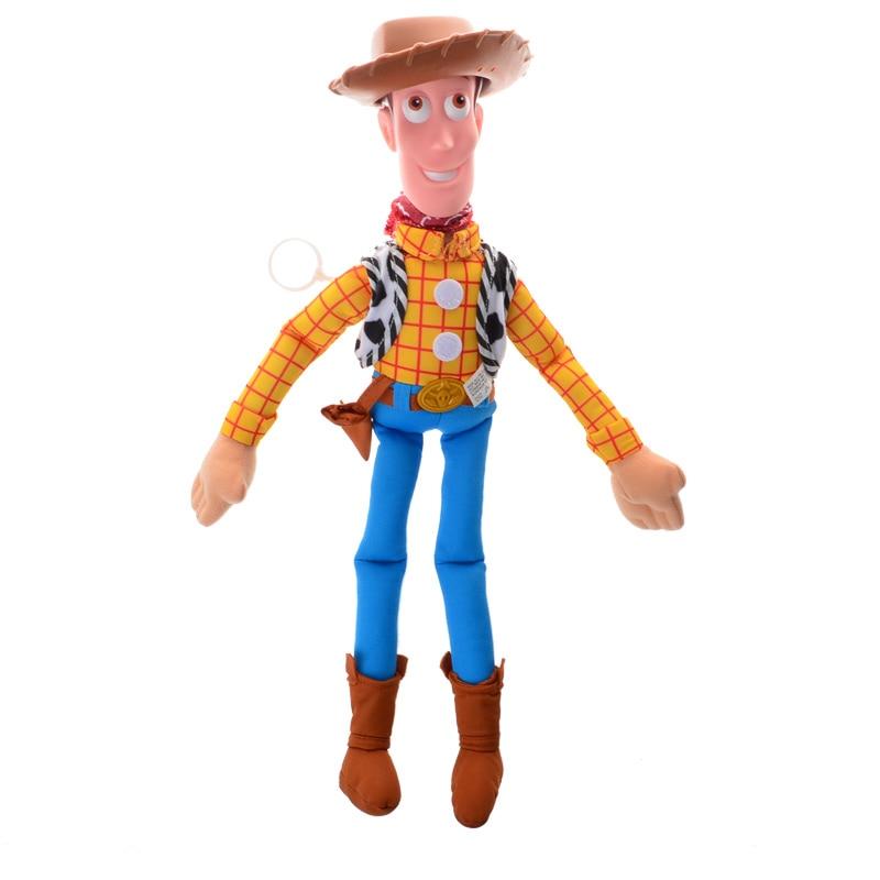 BOHS Toy Story Sheriff Woody Figure Plush West Cowboy Doll 40cm саундтрек саундтрекbernstein west side story highlights