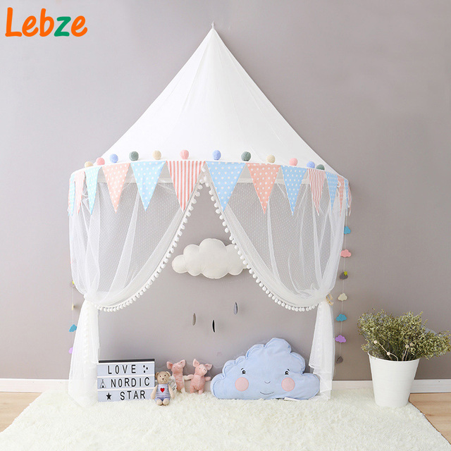 Teepees For Children Play Tent For Kids Cotton Canvas Childrenu0027s Tent Tipi With Pennant Kids Tent & Teepees For Children Play Tent For Kids Cotton Canvas Childrenu0027s ...