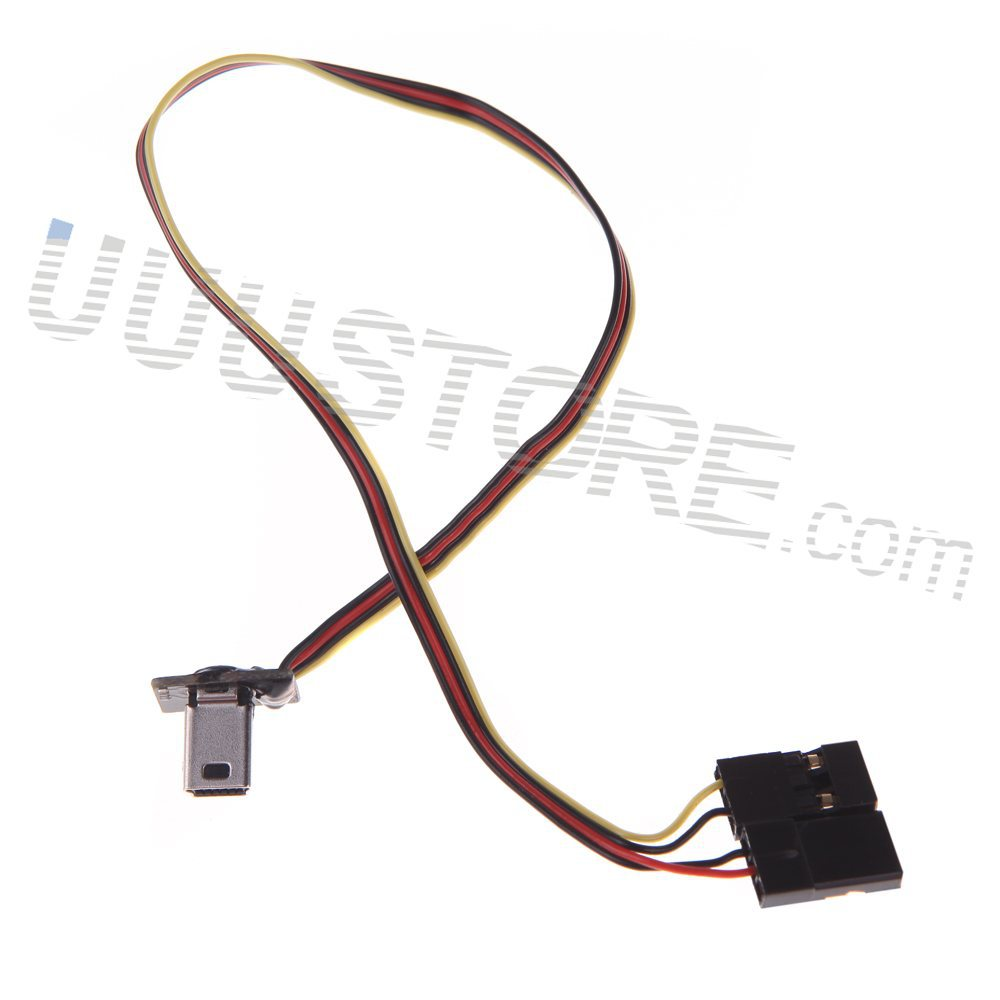USB 90 Degree to AV cable Video Output 5V DC Power BEC Input Cable FPV Part  for Gopro Hero 3 Camera Worldwide sale-in Parts & Accessories from Toys ...