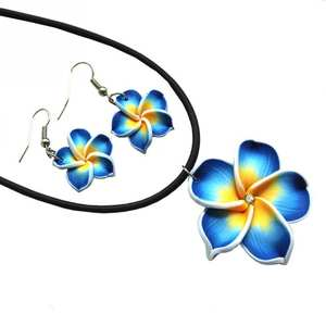 Favolook Flowers Jewelry Sets Earrings Necklace Pendant