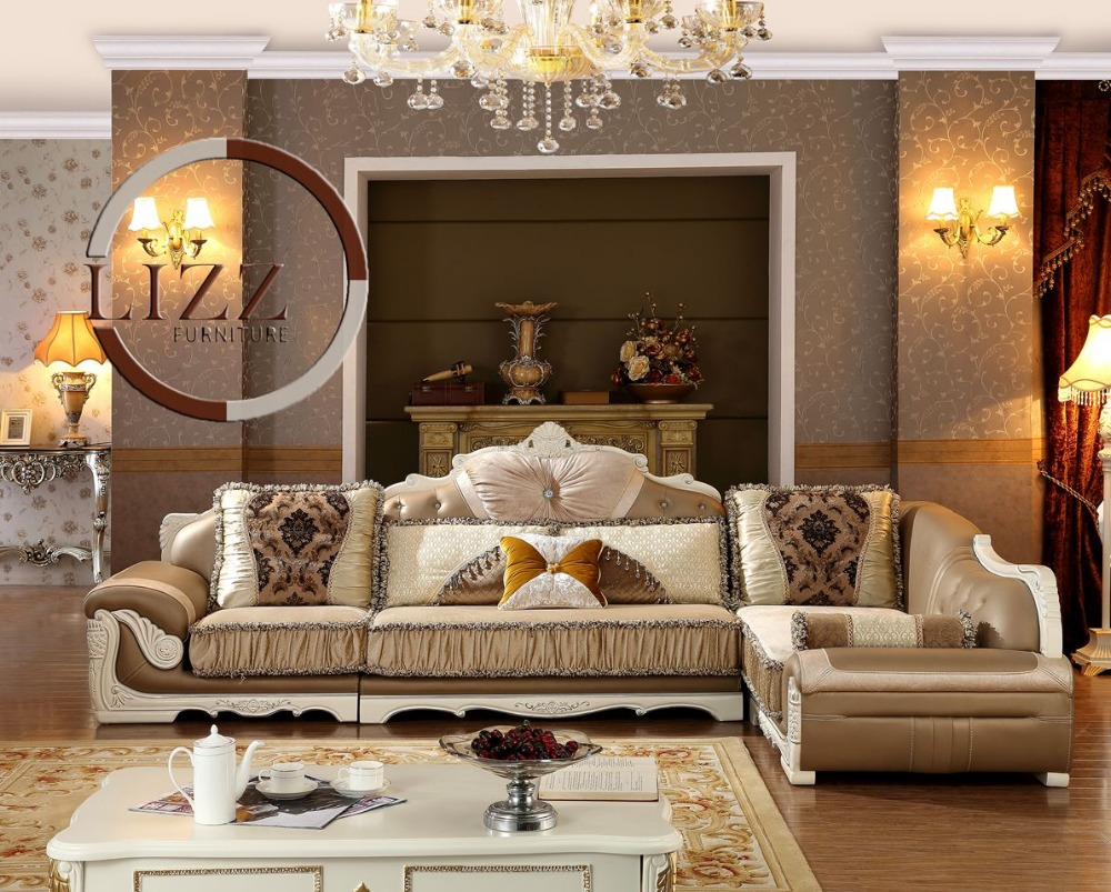 Royal Furniture Living Room Sets Aliexpresscom Buy Lizz Royal Style Button Tufted Living Room