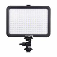 LED Video Light Photo Lighting On Camera Hot Shoe Dimmable 204 Pcs LED Lamp For Canon