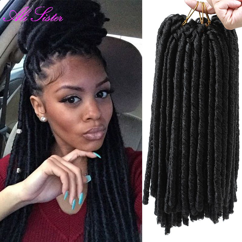 Synthetic Hair Dreadlock Weave Remy Indian Hair