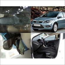 For Ford Focus 2 Car front camera wifi DVR Car Video Recorder Novatek 96658 Dash Cam FHD 1080P Motion Detection night vision