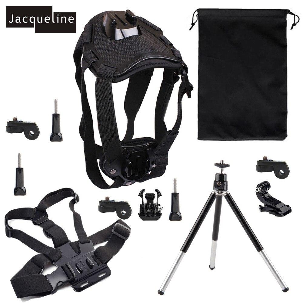 Jacqueline para perro arnés kit accesorios para Sony acción CAM HDR AS20 AS200V AS30V AS100V AZ1 mini FDR-X1000V /W 4 K