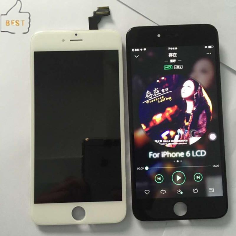 1 picese 100 Test Black White For iPhone 6 LCD font b Touch b font font