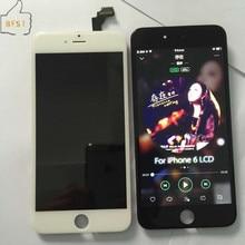 1/picese pantalla lcd perfecto para iphone 6 negro blanco 6G 4.7 pulgadas AAA Calidad Brank Frame Ensamblaje de la Pantalla Táctil + Free regalo