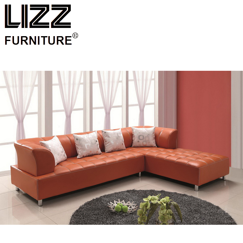 Chesterfield Living Room Sale Sofa Sets Divany Leather Sofa Home Used  Luxury Modern Furniture Leather Chair Corner L Shape Sofa In Living Room  Sofas From ...