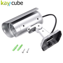 Dummy IR Simulation Fake Camera Home Surveillance Security With Sensor Light LED Flashing Hot Sale For Safety