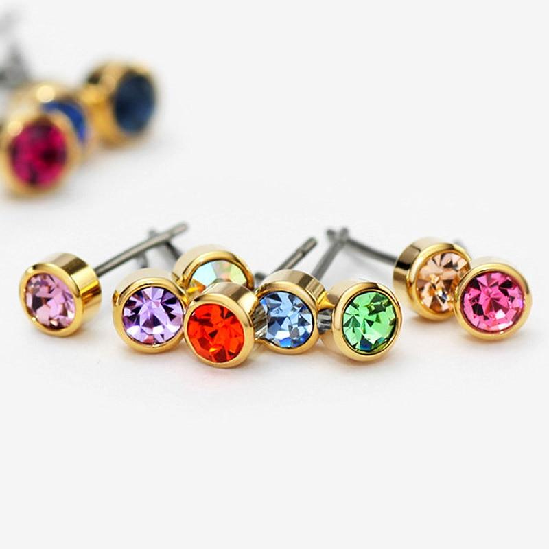 Neoglory Austria Berlian Imitasi Pesona Cahaya Warna Kuning Emas - Perhiasan fashion - Foto 3