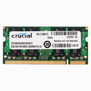 Kluczowa pamięć laptopa DDR2 667/800 MHZ DDR2 2GB 4GB laptop RAM 4GB = 2szt 2G PC2-5300/6400 S 1.8V