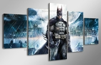 5 Pcs Sets Batman 3d Diamond Painting Square Diy Diamond Drill Diamond Embroidery Cross Stitch Home
