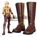 Nueva RWBY Yang Xiao Long Cosplay Boots Por Encargo Para Hombre de Halloween Fiesta de Carnaval Cosplay Shoes