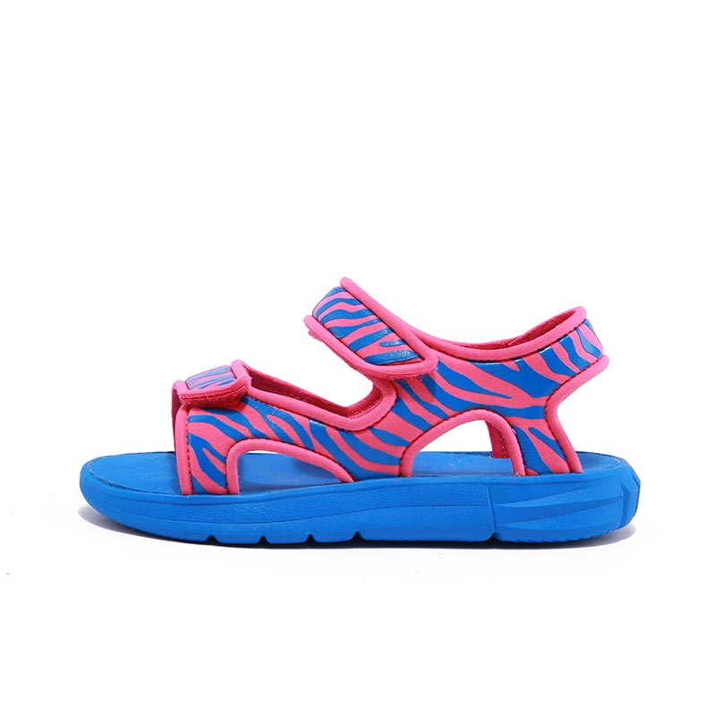 Sandals For Boys Soft Beach Shoes For Girls Striped Breathable Summer Casual Shoes For Kids Children Fashional Footwear Yellow