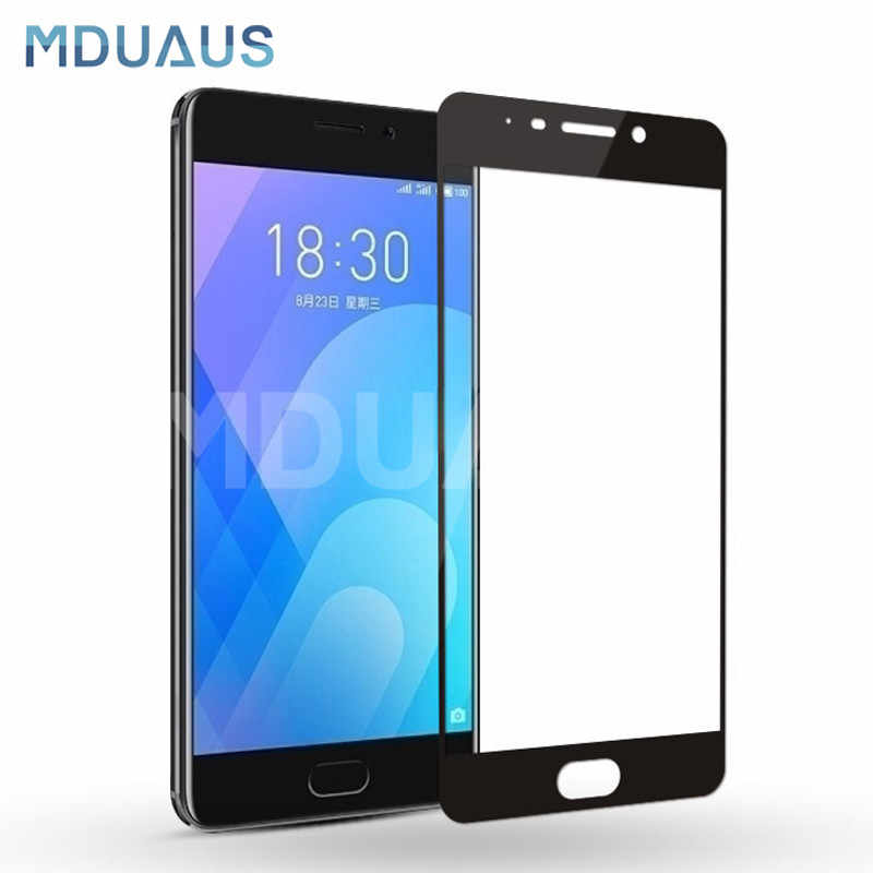 9D Protective Glass on the For Meizu M6 M5 M3 Note M6S M6T M5S M5C M3S M8 Pro 7 Plus Tempered Screen Protector Glass Film Case