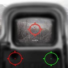 551 552 553 красный зеленый точка голографический прицел Сфера с красным лазером рефлекс прицел с 20 мм крепление для страйкбола пистолет