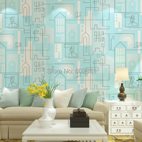 Wallpaper Bedroom Geometric