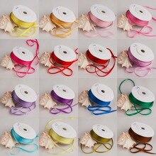 10 м/рулон, ширина 2 мм, настоящие Ppure шелковые ленты для вышивки и рукоделия, тканые двухсторонние тафты шелковая лента в рулоне