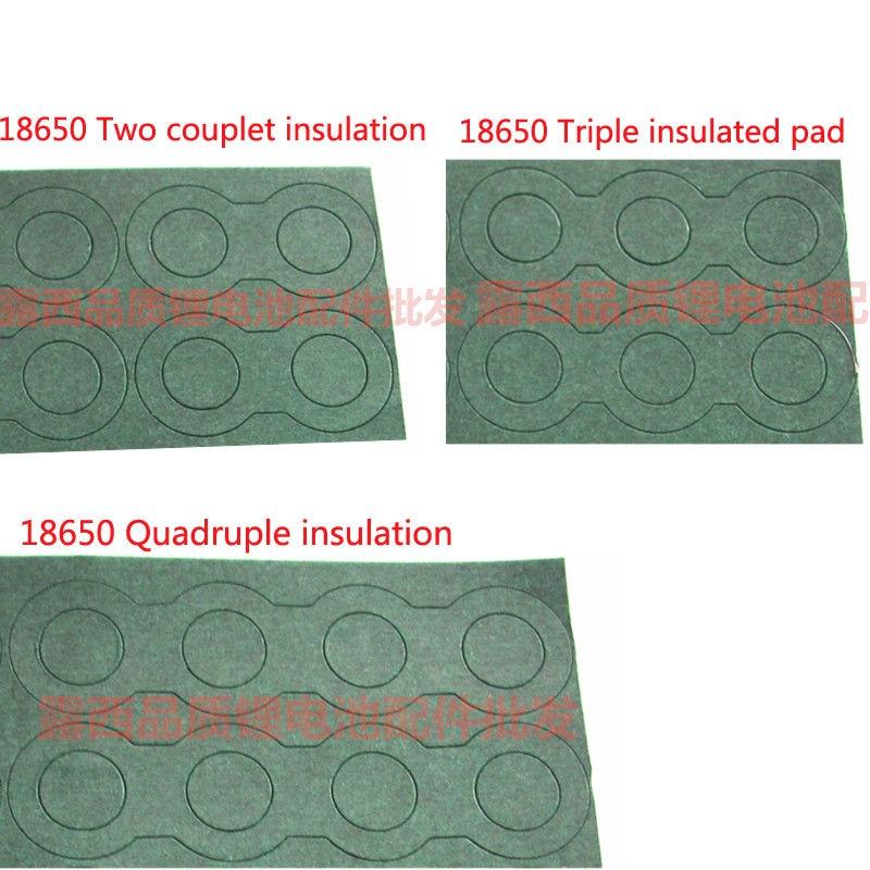 18650 литиевая батарея 2 3 батареи изоляции колодки 4 ячменя бумаги pad плоской поверхности pad полый изоляции прокладка
