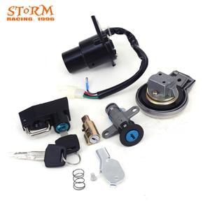 Image 3 - Kit de bouchons de carburant à clé pour moto, interrupteur dallumage, pour siège de direction, pour Yamaha Virago XV125, XV250, XV 125, 250, QJ250 H