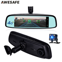 AWESAFE 7 84 4G Special Bracket Car Camera Mirror Android GPS Navigation DVR WIFI Dual Lens