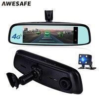AWESAFE 7 84 4G Special Bracket Car Camera Mirror Android GPS Navigation DVR WIFI Dual Lens