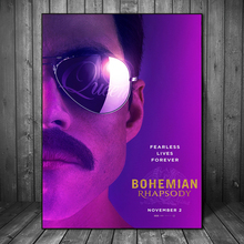 Freddies Mercuries The Queen Biopic Bohemian Rhapsody Art Canvas Poster Oil Painting Wall Picture Print Home Bedroom Decoration
