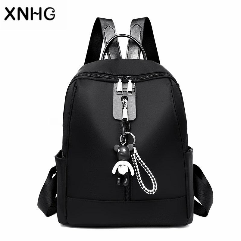 Korean Style Fashion Backpack Bag Brand 15.6 Inch Waterproof Back Pack School Backpack Bag Laptop Notebook Mochila for Women