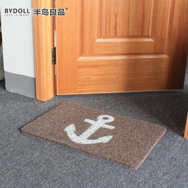 Peninsula door mats doormat home foyer wire loop bath mat car rub soil & Peninsula door mats doormat home foyer wire loop bath mat car rub ...