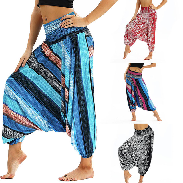 Casual Loose Boho Harem Pants