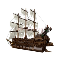 Lepin 16016 Flying Netherlands Movies Kits Lepin 16018 Ghost Pirate Ship Building Blocks Bricks Gifts Toys Clone legoings 79008