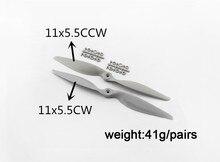 2pcs APC 11*5.5 Propeller + 2pcs APC 11*5.5 Reverse Propeller, APC 11*5.5 CW CCW Propeller цена и фото