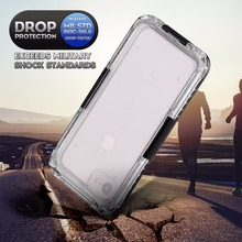 Waterproof Case For iPhone 7 8 6 Hybrid Swimming Dive Water Shock Proof Cover Outdoor Phone Cases Skiing For iPhone 8 7 6s 4.7″