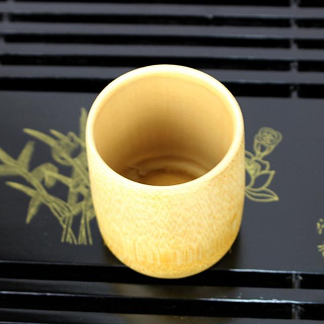 Conscious Home Handmade Bamboo Tea Cups