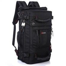 DB92 Высококачественная брендовая одежда мужские дорожные сумки модные мужские рюкзаки мужские Многоцелевой Рюкзак Путешествия многофункциональная сумка на плечо