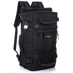 DB92 KAKA Quality Brand Men's Travel Bags Fashion Men Backpacks Men's Multi-purpose Travel Backpack Multifunction Shoulder Bag