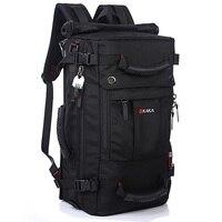 DB92 KAKA Quality Brand Men's Travel Bags Fashion Men Backpacks Men's Multi purpose Travel Backpack Multifunction Shoulder Bag
