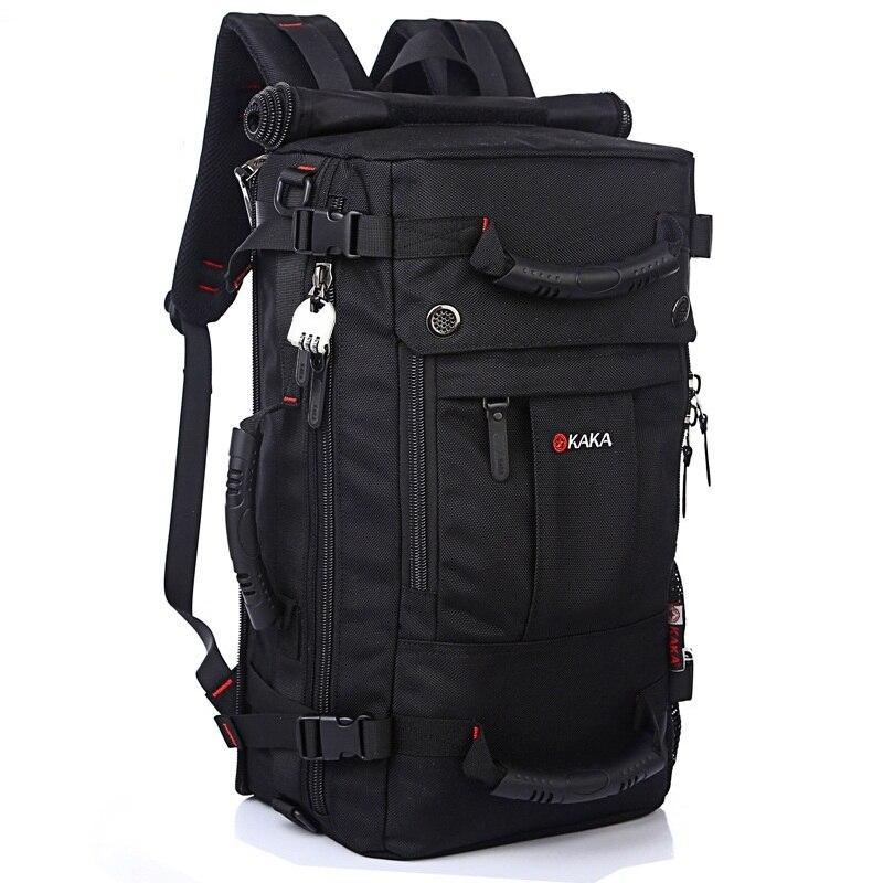 DB92 KAKA qualité marque sacs de voyage pour hommes mode hommes sacs à dos hommes multi-usages voyage sac à dos multifonction sac à bandoulière