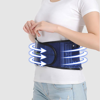 Inflatable Waist Traction Support Belt Lumbar Brace Massage Band Lumbar Fixed Correction Brace Belt Relieve Wrist Pain Massager