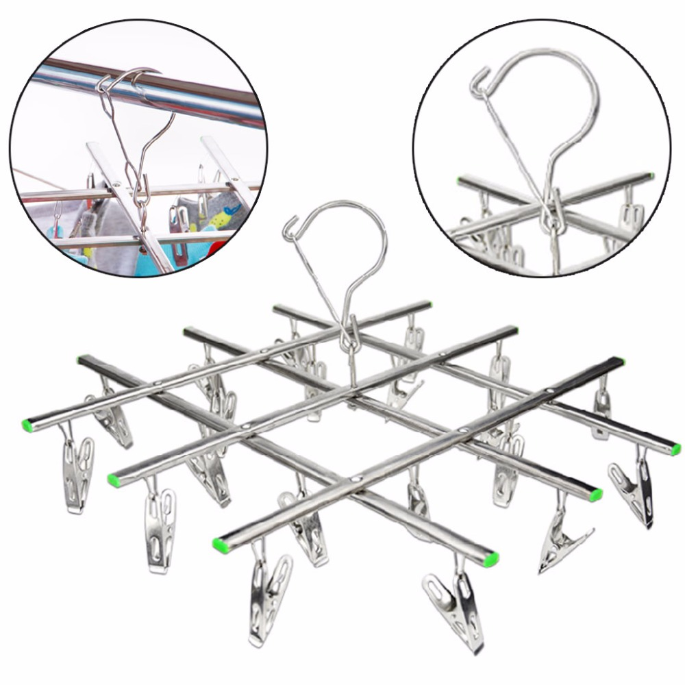 Bendable Flexible Foam Hangers Anti-skid Foam Clothes Hanger Holder Rack 5pc
