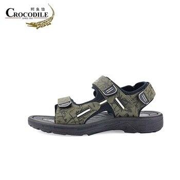 Крокодил летом Femme сандалии для прогулок 2018 Для женщин быстрый сухой плоские сандалии для женская пляжная обувь Дайвинг тапочки водонепрон...
