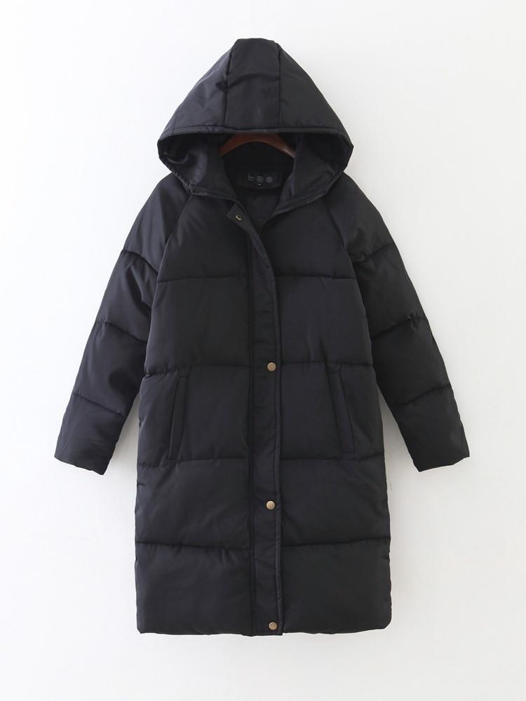 Novi Zadebljavanje 2018 žene Parka zimske jakne kaput dolje plus - Ženska odjeća - Foto 6