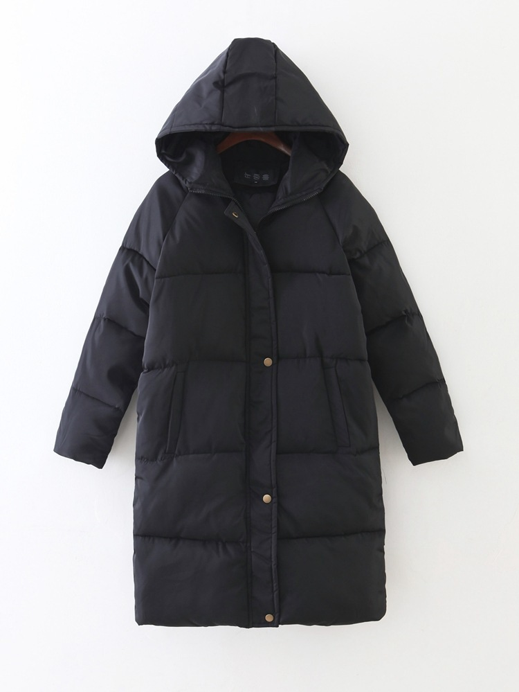 New Thickening 2018 kvinder Parka vinterjakke frakke plus størrelse - Dametøj - Foto 6