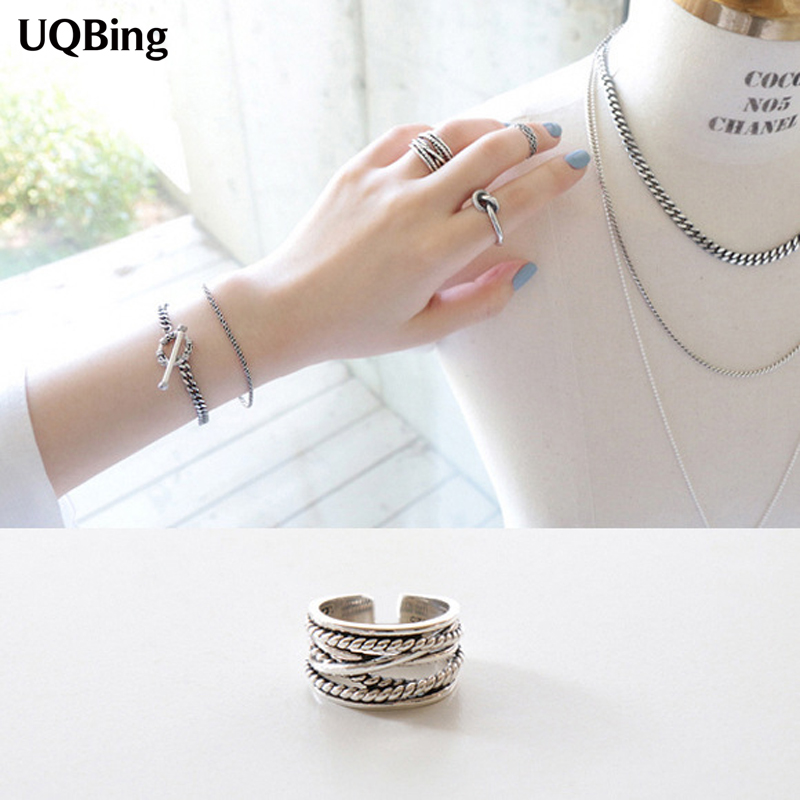 Buy 2016 new arrival exaggerated retro Vintage style fashion rings