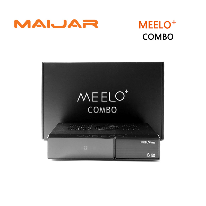 [GENUINE] Meelo combo Satellite Receiver 1200MHz Processor 4GB Serial Flash 1GB DDR3 DVB-S2+DVB-T2/C same function x solo mini3 meelo turbo dvb s2 c t2 linux enigma2 os iptv satellite receiver 7 segment 4 digits display processor 256mb flash 512mb ddr