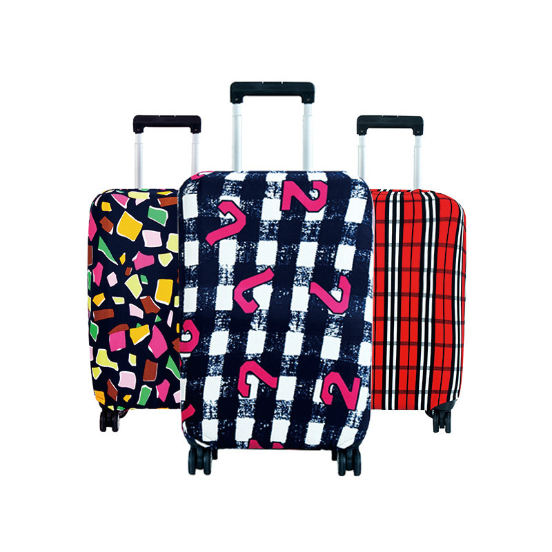 Hot Fashion Travel on Road Luggage Cover Protective Suitcase cover Trolley case Travel Luggage Dust cover for 18 to 30inch цены