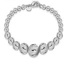 XIYANIKE – Bracelet en argent Sterling 2017 pour femmes, grosse perle de sable, nouvelle collection, offre spéciale, VBS4008
